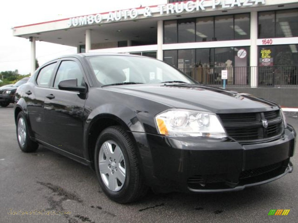 2010 Dodge Avenger SXT in Brilliant Black Crystal Pearl - 132992 | Jax Sports Cars - Cars for ...