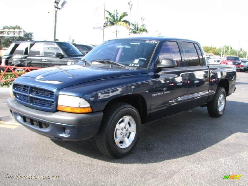 on 2002 Dodge Dakota Blue