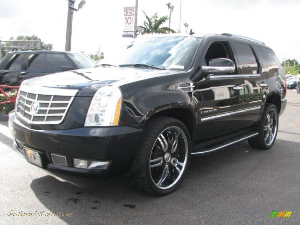 2007 Cadillac Escalade Awd In Black Raven Photo 4 425475 Jax Sports Cars Cars For Sale In