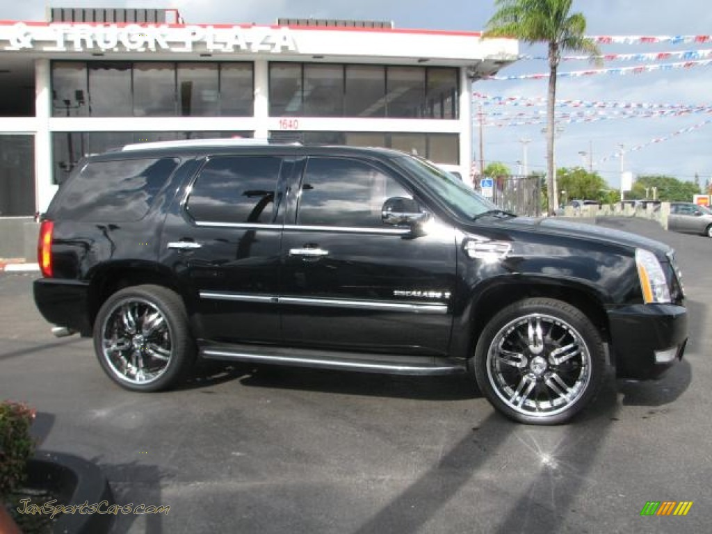 2007 Cadillac Escalade Awd In Black Raven Photo 10 425475 Jax Sports Cars Cars For Sale