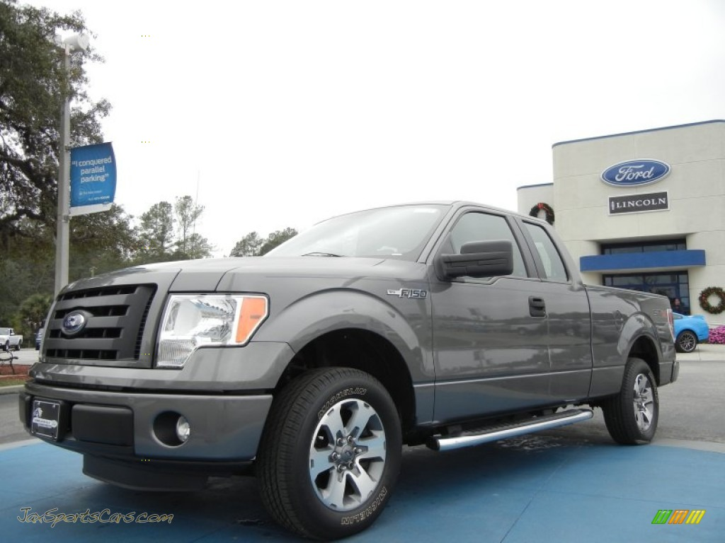 2011 Ford F150 Stx Supercab In Sterling Grey Metallic
