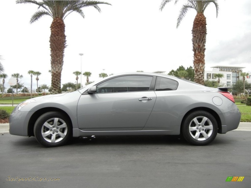 2008 nissan altima 2 5 s coupe in precision gray metallic 230158 jax sports cars cars for. Black Bedroom Furniture Sets. Home Design Ideas