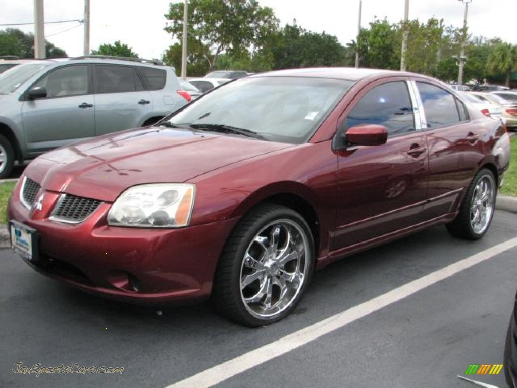 2004 Mitsubishi Galant Es In Ultra Red Pearl 129629