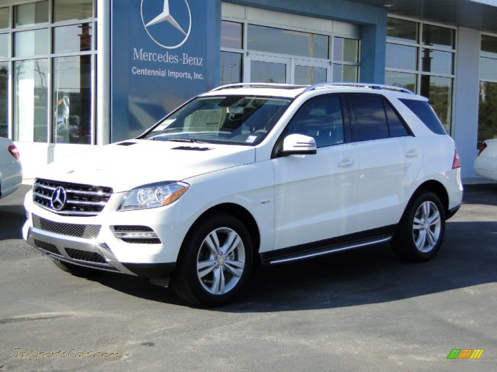 2012 Mercedes Benz Ml 350 4matic In Arctic White Photo 12