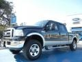 Ford F250 Super Duty Lariat Crew Cab 4x4 Black photo #1