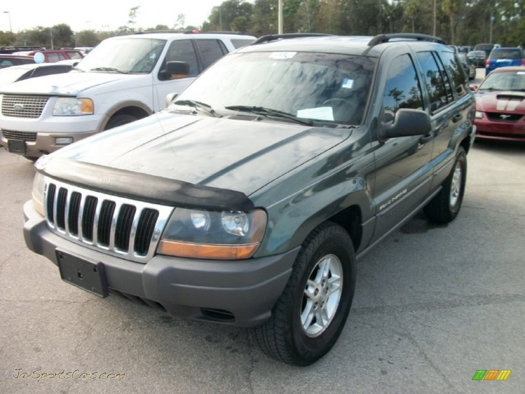 2002 jeep grand cherokee laredo in onyx green pearlcoat 116664 jax. Cars Review. Best American Auto & Cars Review