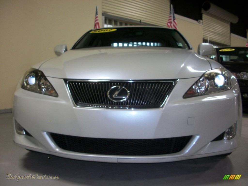 2007 Lexus Is 250 In Starfire White Pearl 046668 Jax