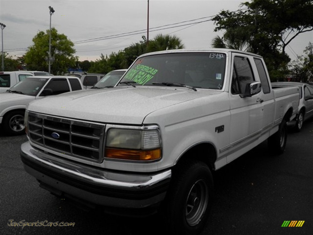 Hemborg Ford Norco 1993 Ford F150 XLT Extended Cab 4x4 in Oxford White photo #2 - A87648