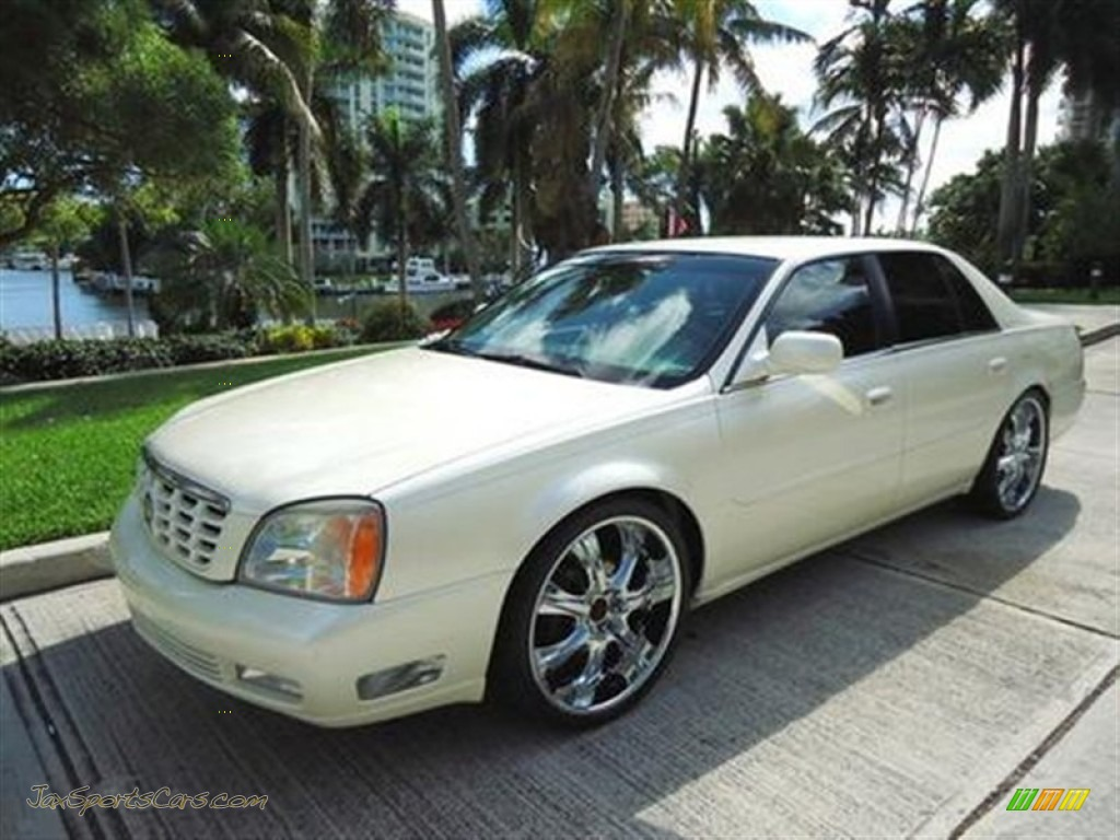 2000 cadillac deville dts in white diamond 333100 jax. Cars Review. Best American Auto & Cars Review