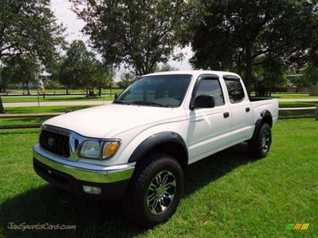 2002 Toyota Tacoma V6 Prerunner Double Cab In Super White 040542 Jax Sports Cars Cars For