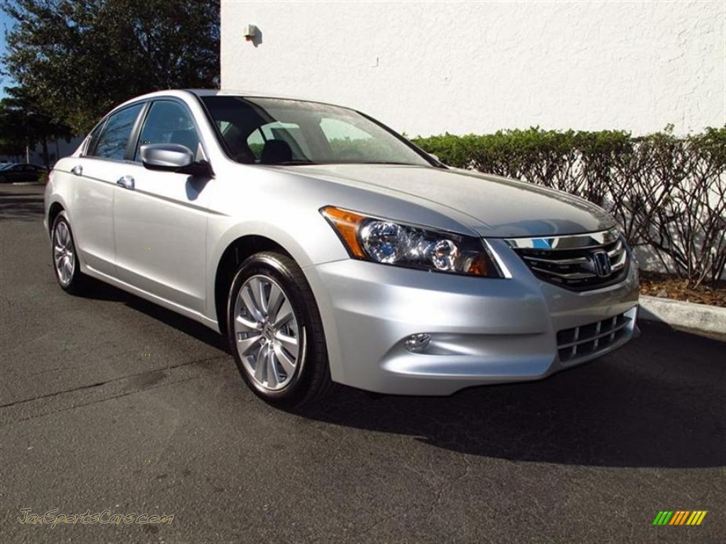 2012 honda accord ex l v6 sedan in alabaster silver metallic 012321 jax sports cars cars. Black Bedroom Furniture Sets. Home Design Ideas