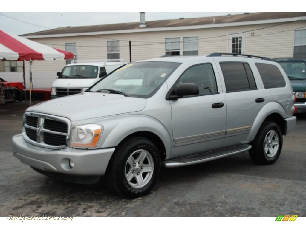 2004 dodge durango limited 4x4 in brilliant silver. Black Bedroom Furniture Sets. Home Design Ideas