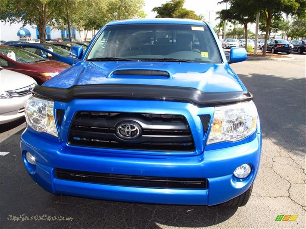 2008 toyota tacoma v6 trd sport double cab 4x4 in speedway blue photo 2 016494 jax sports. Black Bedroom Furniture Sets. Home Design Ideas