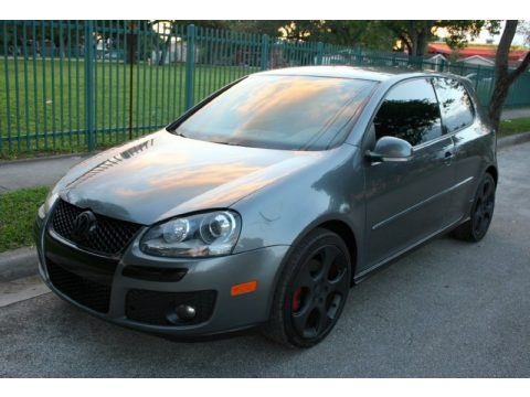 United Grey Metallic 2007 Volkswagen GTI 2 Door