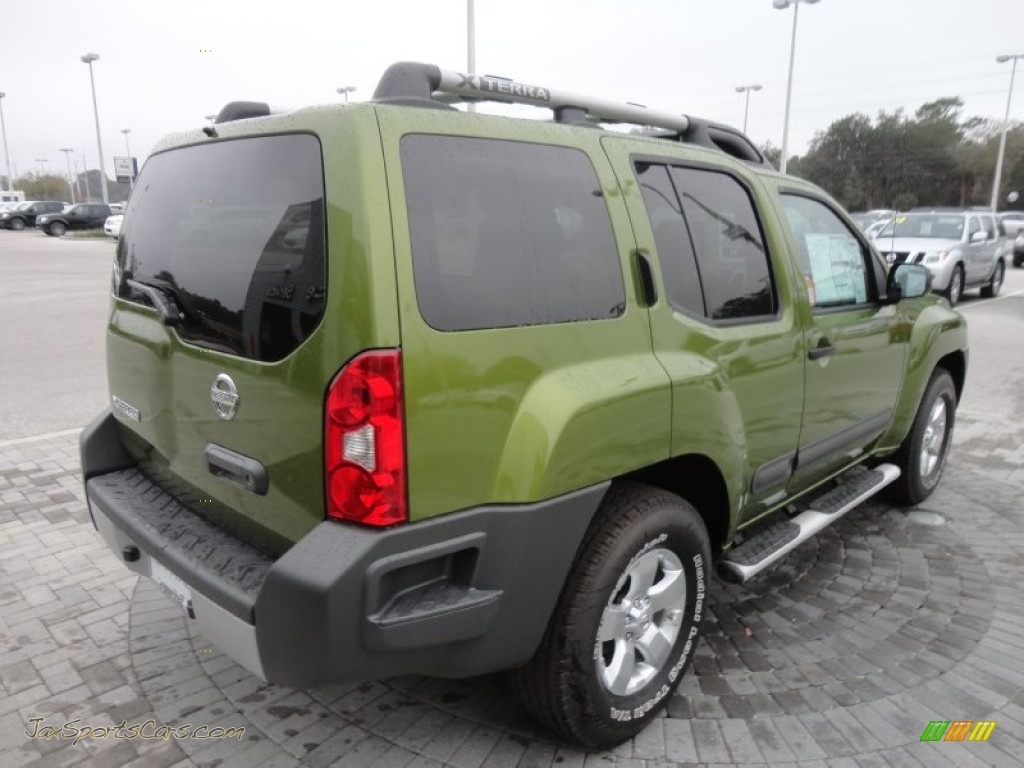 2012 nissan xterra s in metallic green photo 9 504755 jax sports cars cars for sale in. Black Bedroom Furniture Sets. Home Design Ideas