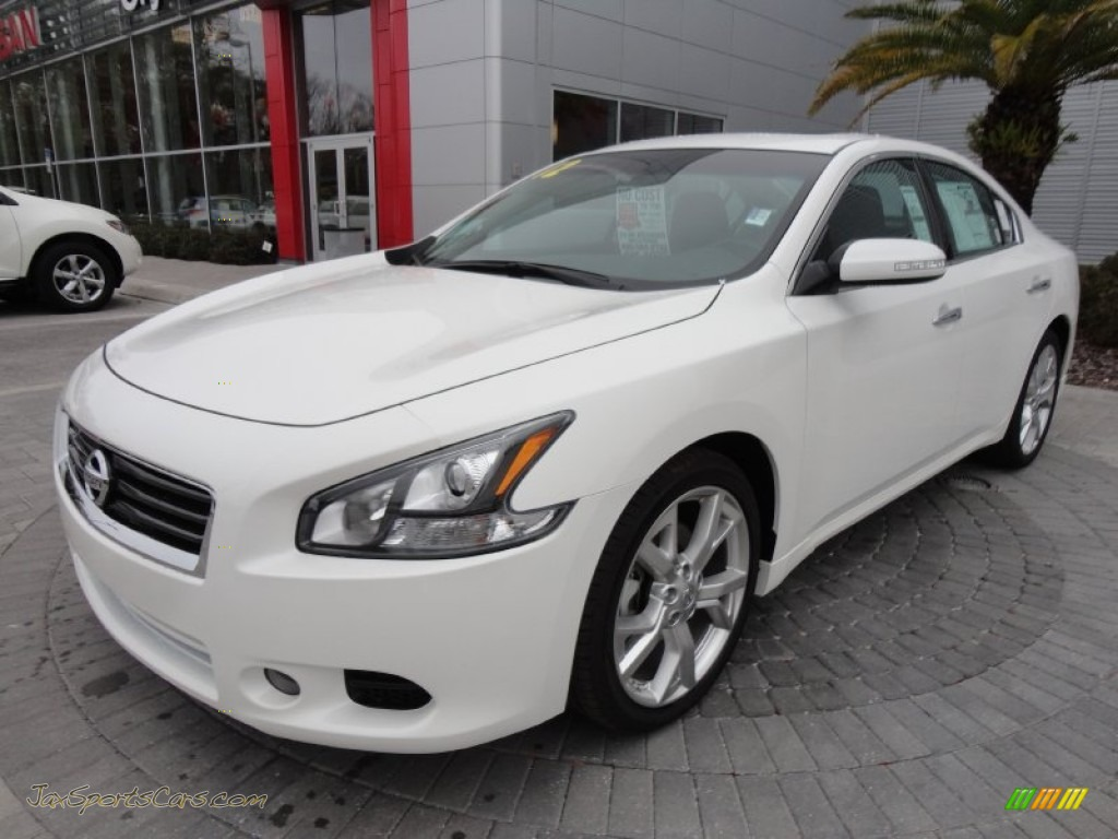 2012 nissan maxima 35 sv sport in winter frost white 818353 winter frost white charcoal nissan maxima 35 sv sport vanachro Images