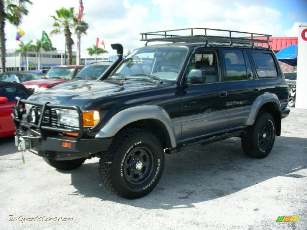 1997 Toyota Land Cruiser In Dark Emerald Pearl Metallic