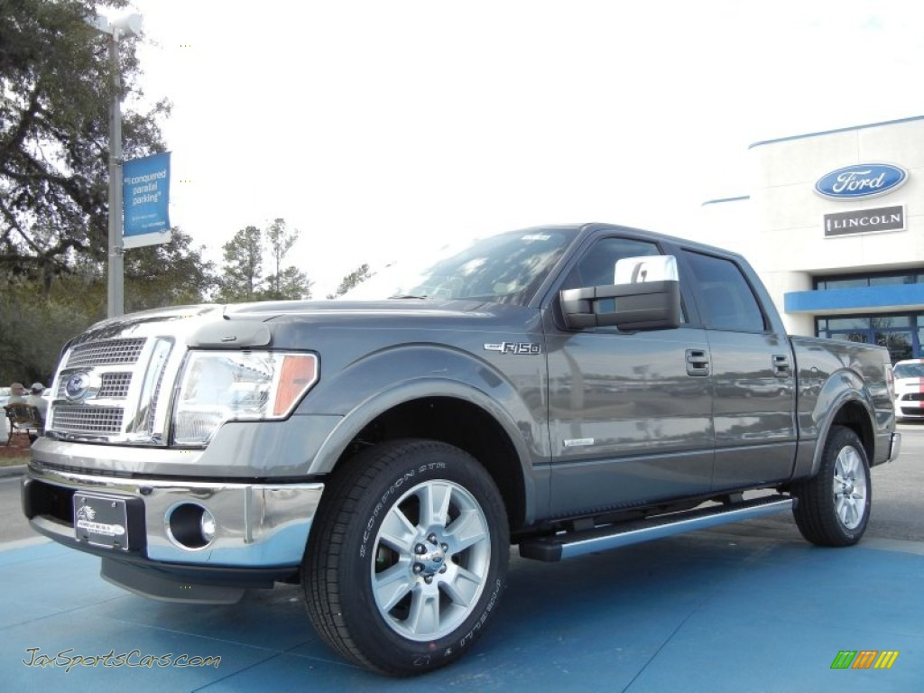 2012 ford f150 lariat supercrew in sterling gray metallic d41884 jax sports cars cars for. Black Bedroom Furniture Sets. Home Design Ideas