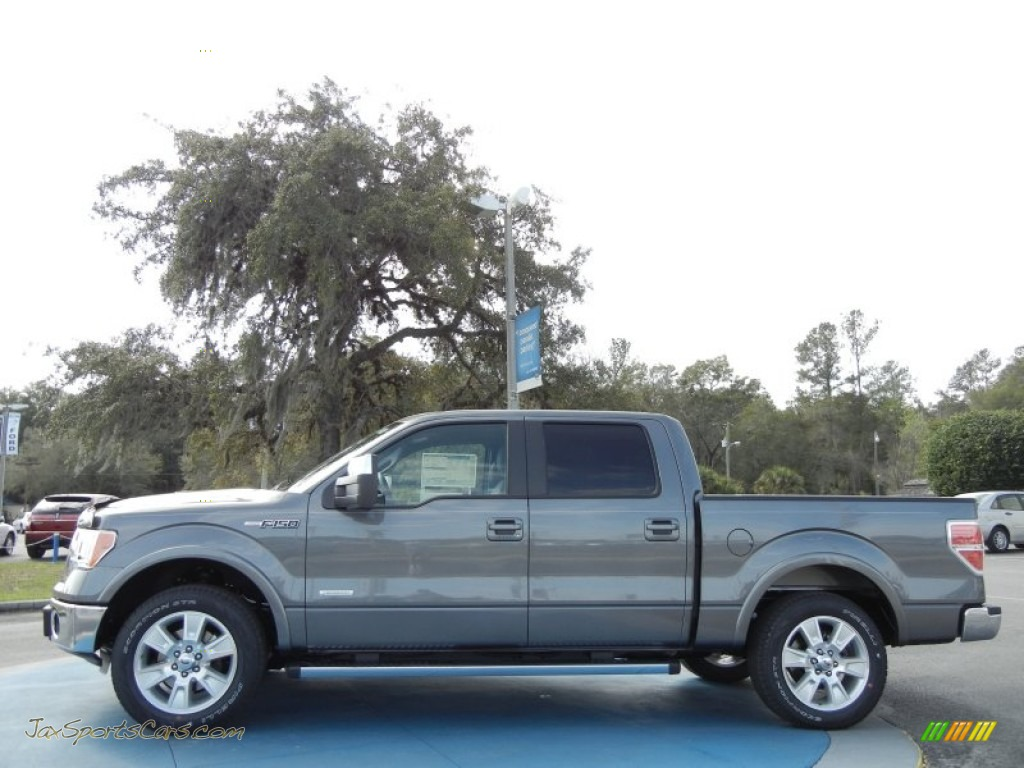2012 ford f150 lariat supercrew in sterling gray metallic photo 2 d41884 jax sports cars. Black Bedroom Furniture Sets. Home Design Ideas