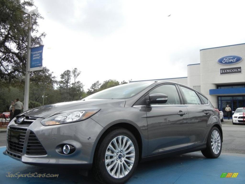 2012 Ford Focus Titanium 5 Door In Sterling Grey Metallic