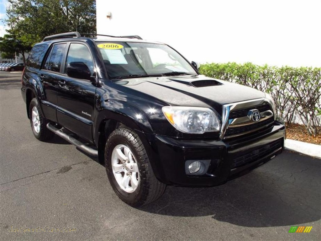 2006 toyota 4runner sport edition in black 049536 jax sports cars cars for sale in florida. Black Bedroom Furniture Sets. Home Design Ideas