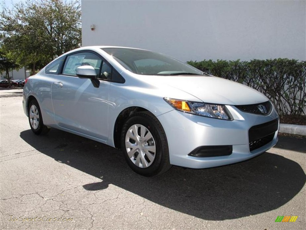 2012 honda civic lx coupe in cool mist metallic 532270 for Cool honda civic