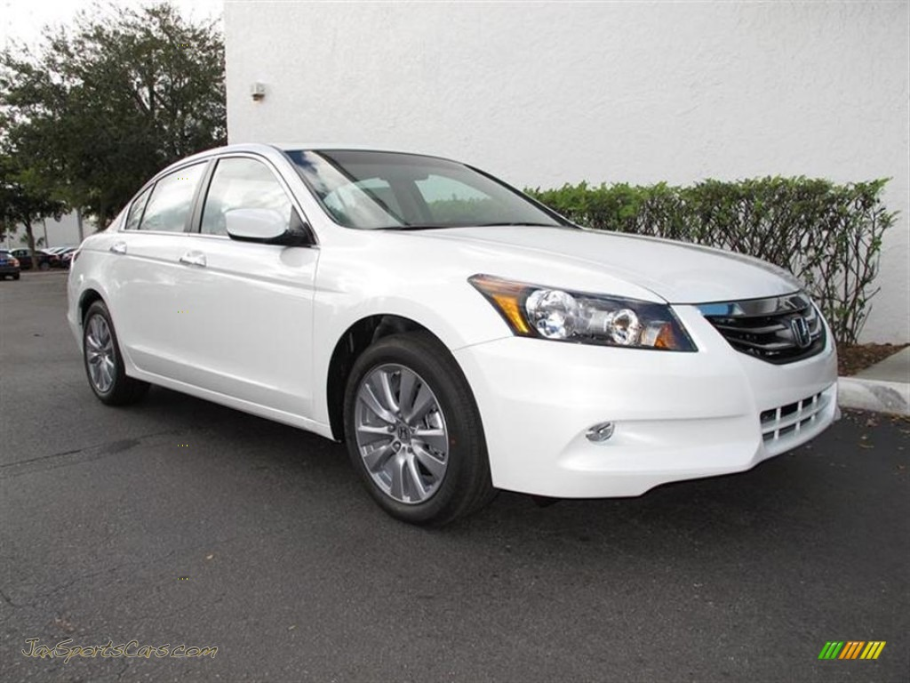 2012 Honda Accord Ex L V6 Sedan In White Orchid Pearl 018931 Jax Sports Cars Cars For Sale