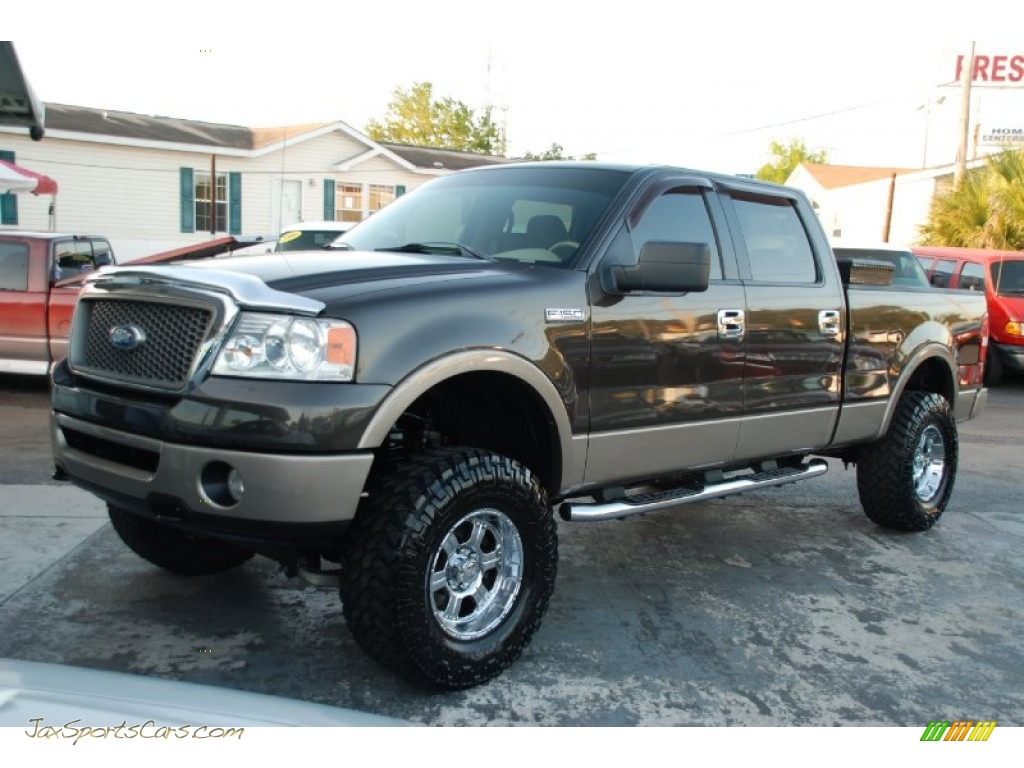 2006 Ford F150 Lariat SuperCrew 4x4 in Dark Stone Metallic ...