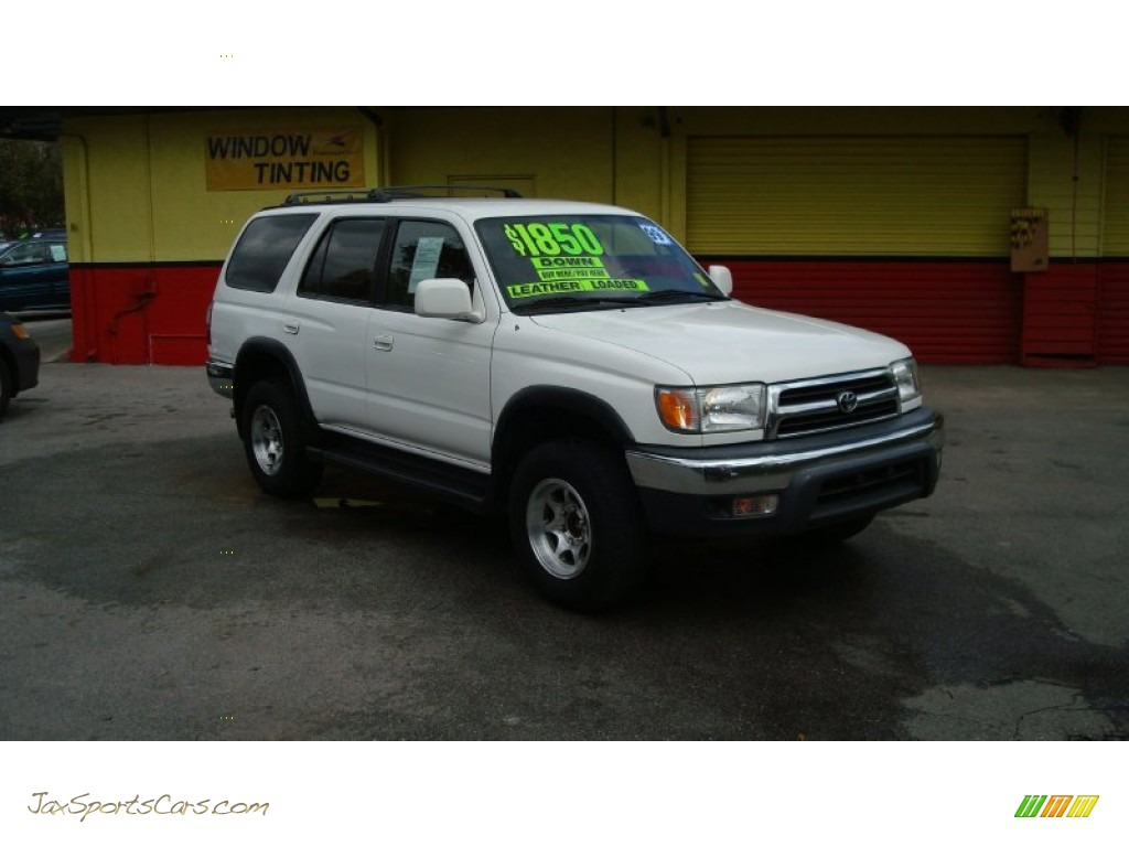 1999 Toyota 4runner Sr5 In Natural White Photo 2 128011 Jax Sports Cars Cars For Sale In