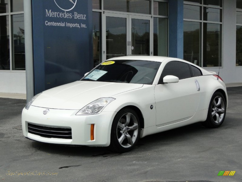 2006 nissan 350z coupe in pikes peak white pearl photo 23. Black Bedroom Furniture Sets. Home Design Ideas