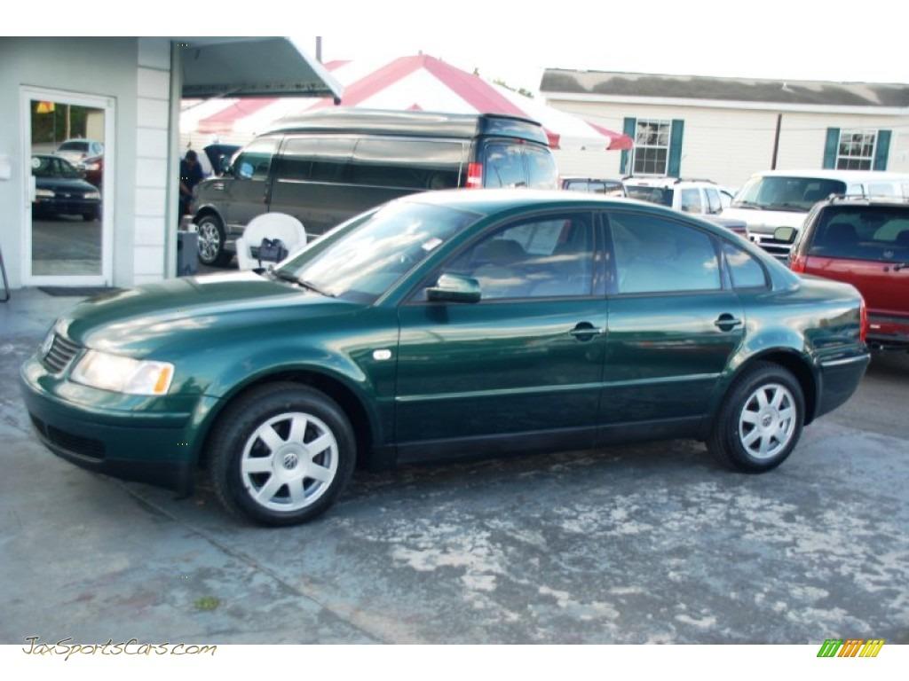 2000 volkswagen passat gls 1 8t sedan in bright green metallic 304155 jax sports cars cars. Black Bedroom Furniture Sets. Home Design Ideas