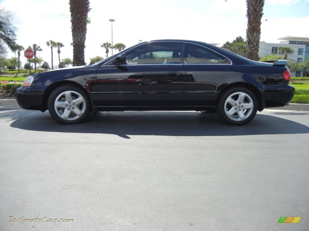 2001 Acura Cl 3 2 Type S In Nighthawk Black Pearl 008625
