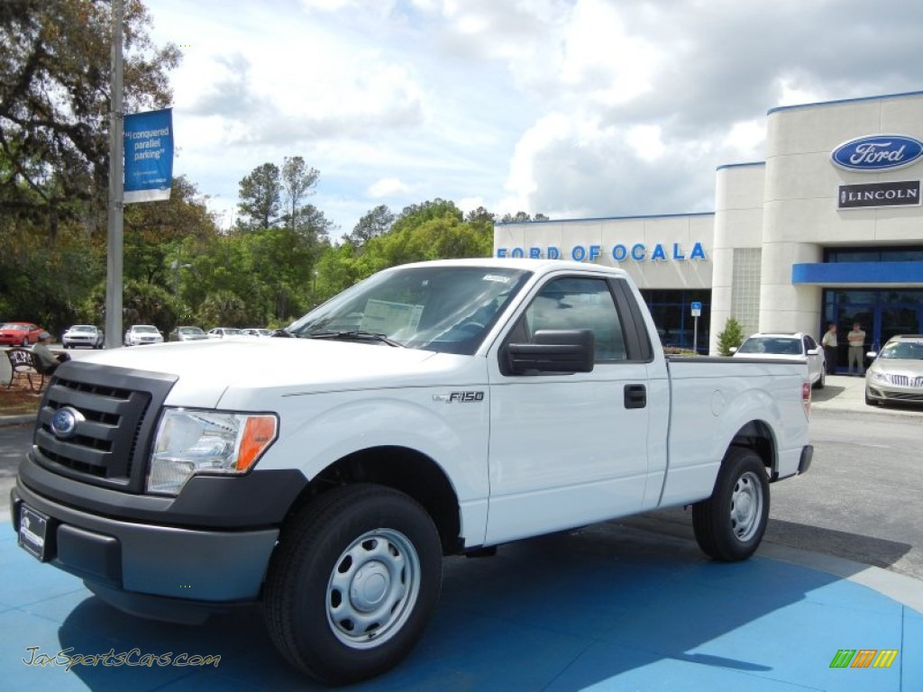 2012 ford f150 xl regular cab in oxford white a81915 jax sports cars cars for sale in florida. Black Bedroom Furniture Sets. Home Design Ideas
