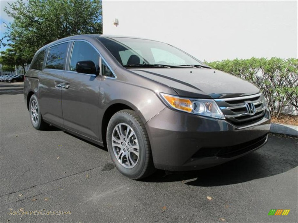 2012 Honda Odyssey Ex L In Smoky Topaz Metallic 076027 Jax Sports Cars Cars For Sale In