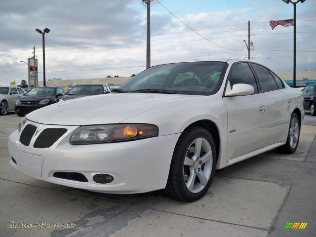 2004 pontiac bonneville gxp in ivory white 239459 jax sports cars cars for sale in florida. Black Bedroom Furniture Sets. Home Design Ideas