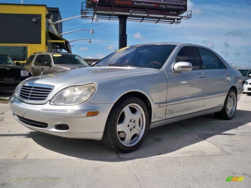 2001 mercedes benz s 500 sedan in brilliant silver for Mercedes benz atlantic blvd