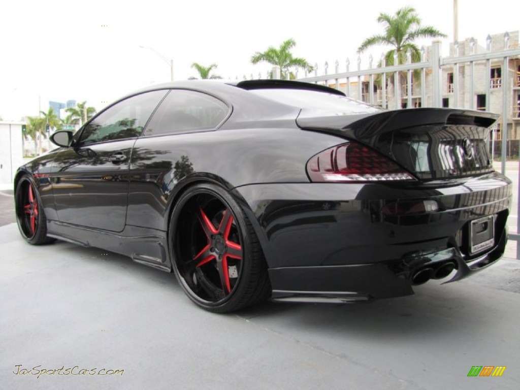 2008 BMW M6 AC Schnitzer Coupe in Black Sapphire Metallic photo 6