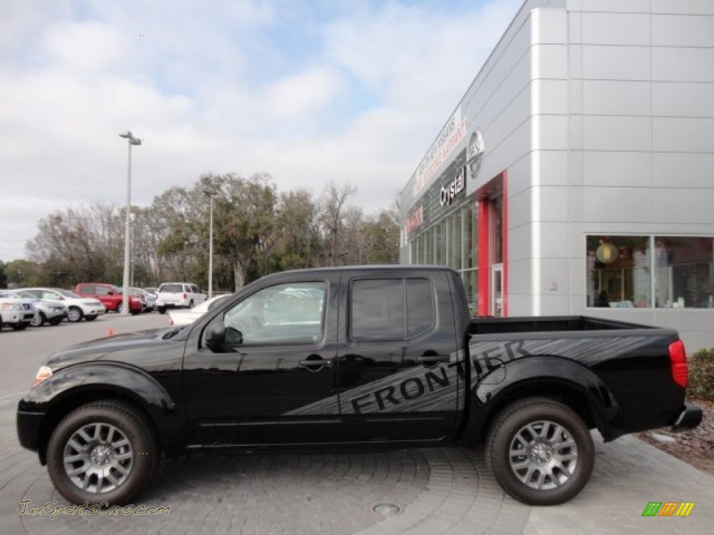 2012 Nissan Frontier Sv Sport Appearance Crew Cab In Super
