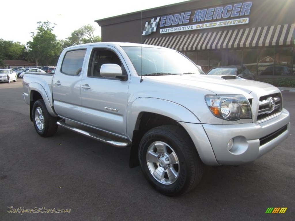 2010 toyota tacoma v6 prerunner trd sport double cab in silver streak mica 095500 jax sports. Black Bedroom Furniture Sets. Home Design Ideas