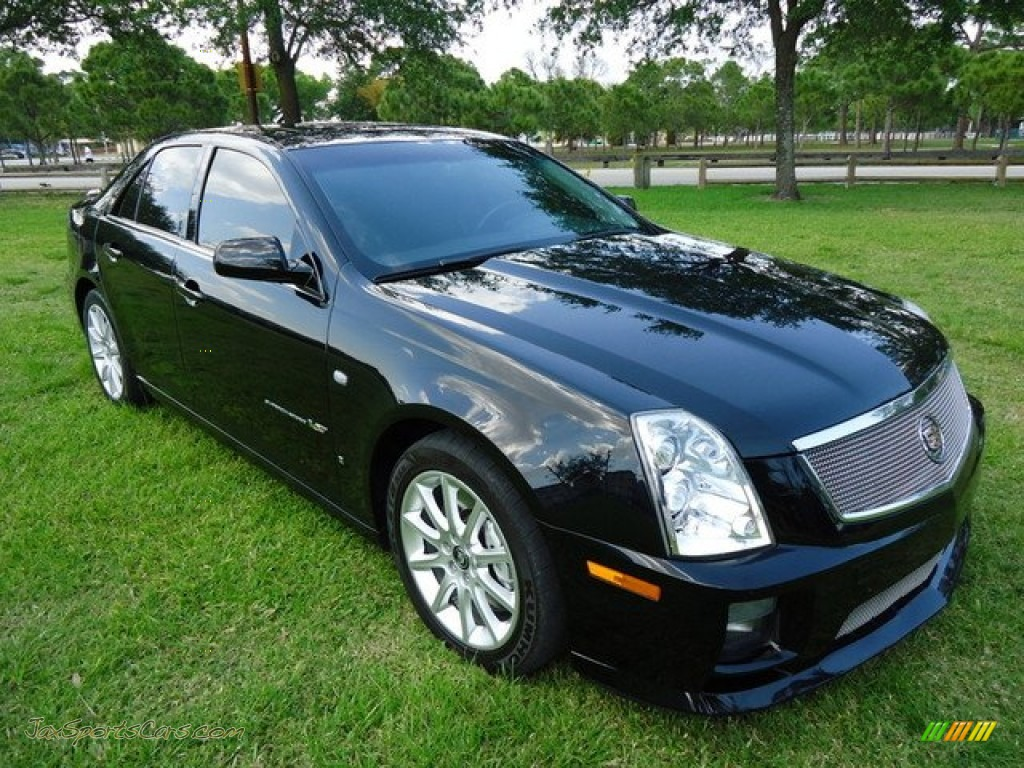 2007 cadillac sts v series in black raven 146140 jax. Black Bedroom Furniture Sets. Home Design Ideas