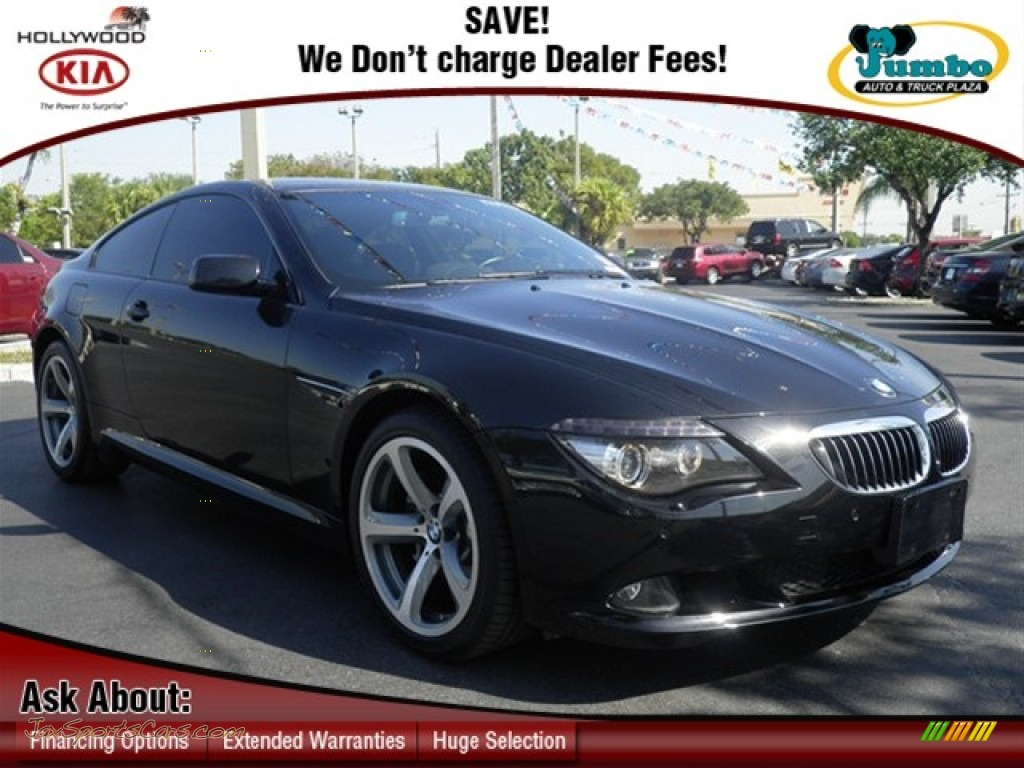 2009 bmw 6 series 650i coupe in jet black v92119 jax. Black Bedroom Furniture Sets. Home Design Ideas