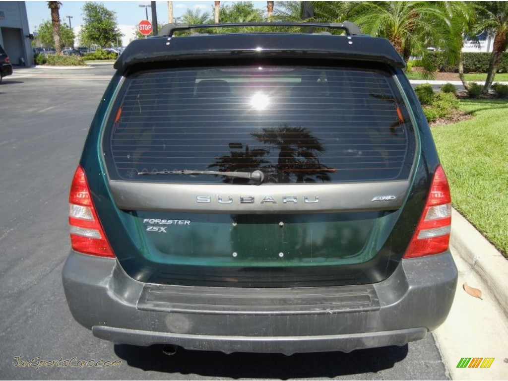 Subaru South Blvd >> 2003 Subaru Forester 2.5 X in Woodland Green Pearl photo ...