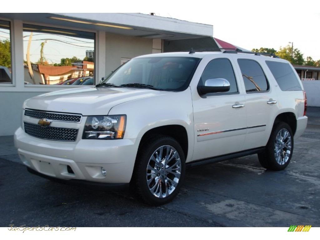 Tahoe Ltz For Sale >> 2010 Chevrolet Tahoe Ltz 4x4 In White Diamond Tricoat 105687 Jax