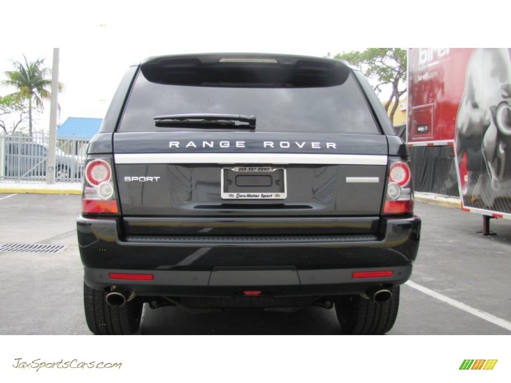 2012 land rover range rover sport supercharged in santorini black metallic photo 16 723936. Black Bedroom Furniture Sets. Home Design Ideas
