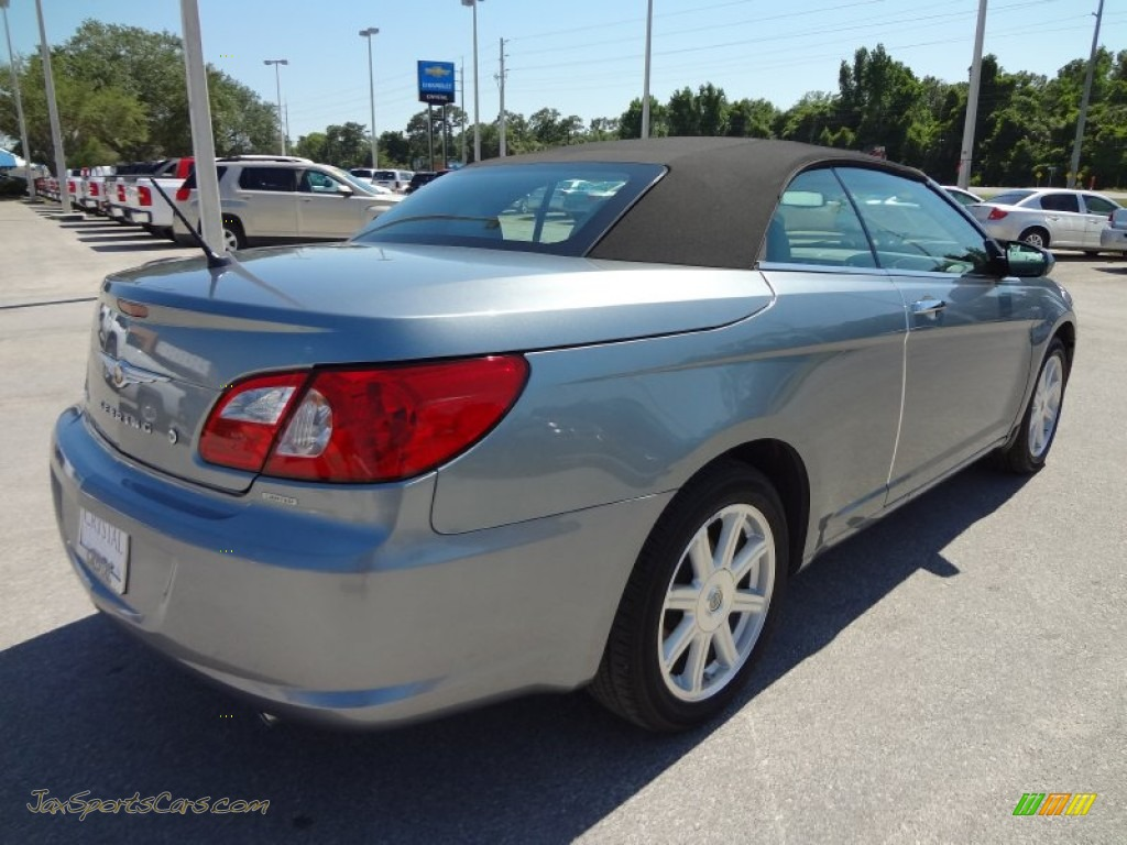 2008 chrysler sebring limited convertible in silver steel metallic. Cars Review. Best American Auto & Cars Review