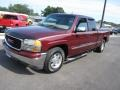 GMC Sierra 1500 SLT Extended Cab Dark Toreador Red Metallic photo #13