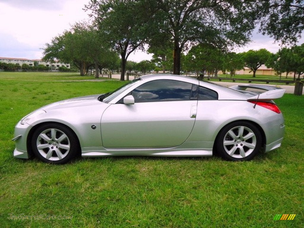 2006 nissan 350z enthusiast coupe in silver alloy metallic. Black Bedroom Furniture Sets. Home Design Ideas