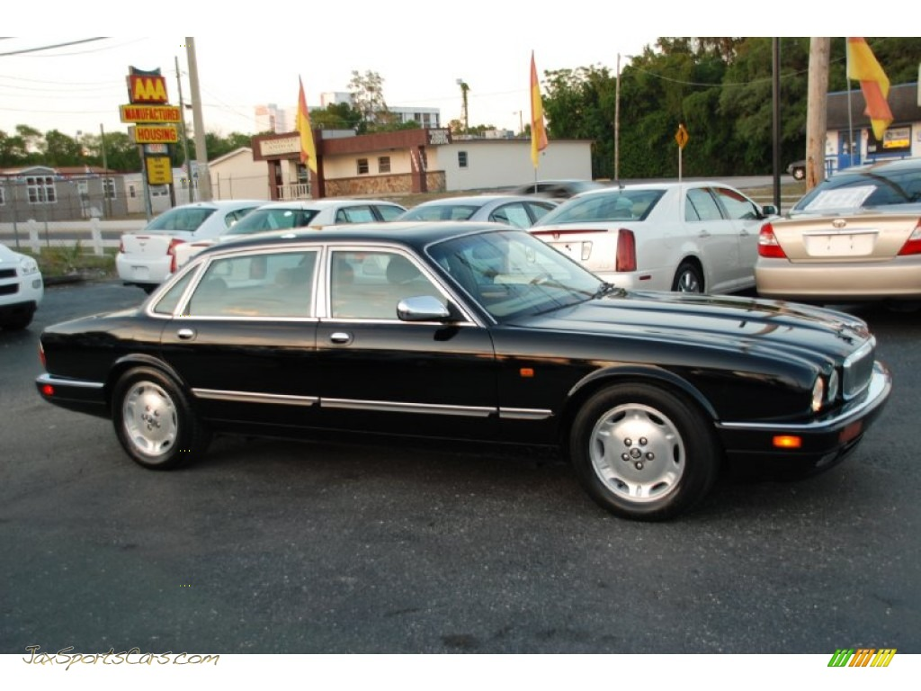 1996 jaguar xj vanden plas in black 768333 jax sports. Black Bedroom Furniture Sets. Home Design Ideas