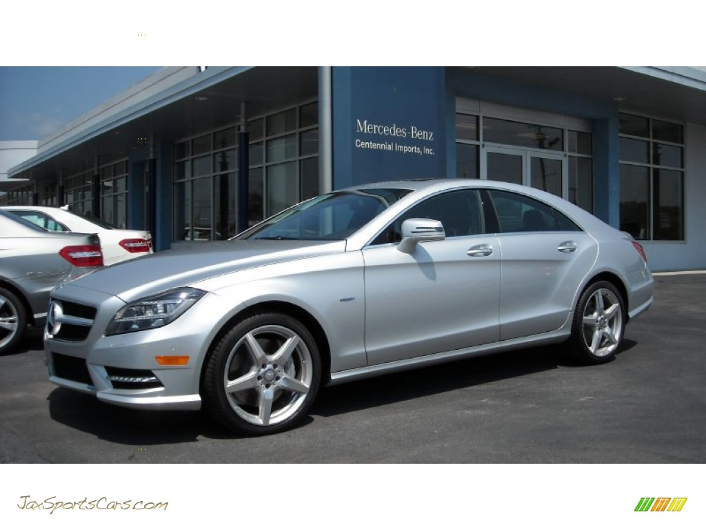 2012 mercedes benz cls 550 coupe in iridium silver for Mercedes benz cls sale