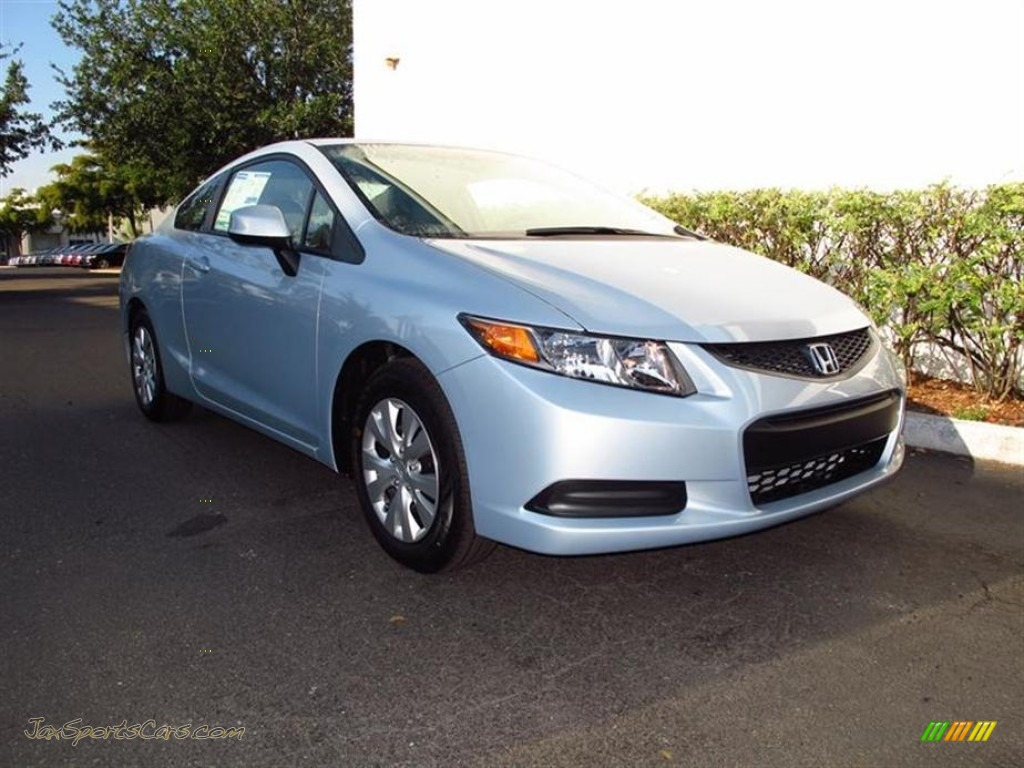 2012 honda civic lx coupe in cool mist metallic 542886 for Cool honda civic